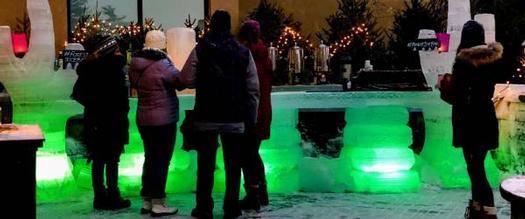 green ice bar