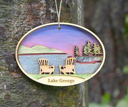 lake george souvenir ornament