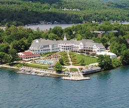 aerial view of the sagamore