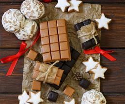 homemade fudge and treats
