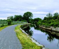 trail by canal