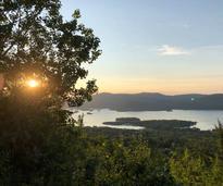 sunset from summit