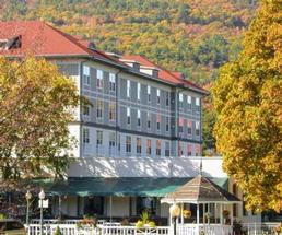hotel in the fall
