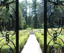 iron gates at yaddo