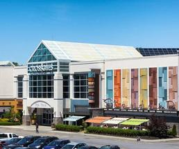 the exterior of crossgates mall
