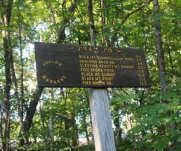 Black Mountain sign