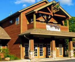 Adirondack lodge
