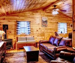 room in a cabin