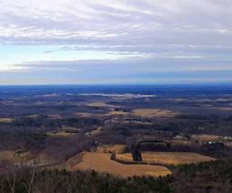 view from Thacher Park