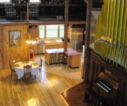 accommodations in a barn