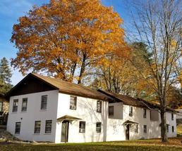 buildings in fall