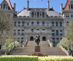 outside the nys capitol building