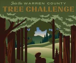 Warren County Tree Challenge poster