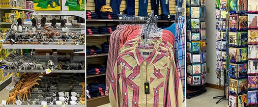collage of items you can get at walker's