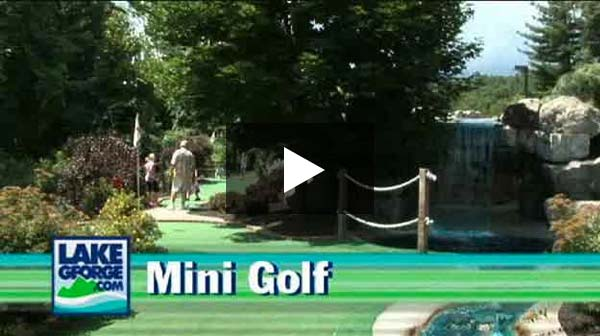 Lake George NY mini golf
