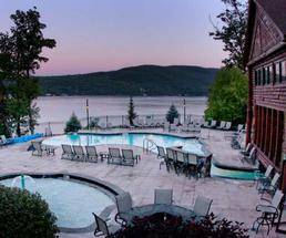 Resorts on Lake George