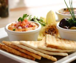 Beautiful appetizer platter