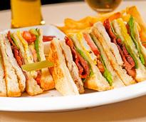The club sandwich, invented in Saratoga Springs