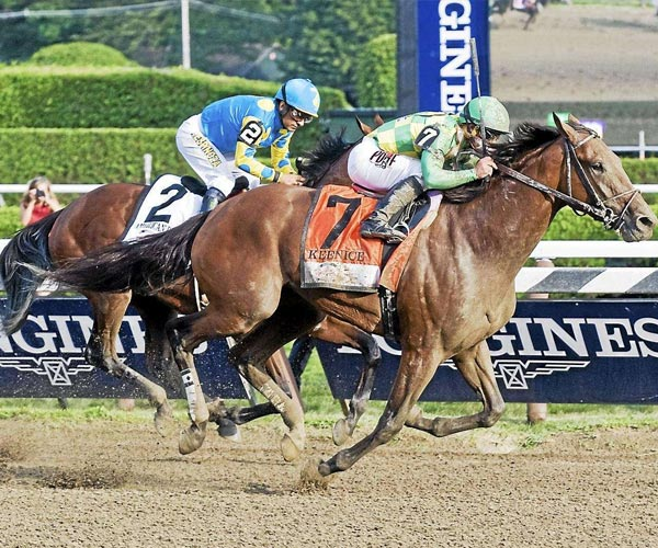 horse racing in the travers stakes