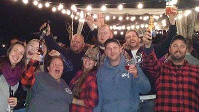 hillbilly bash at the saratoga winery