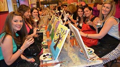 paint and sip night