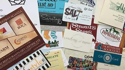saratoga business gift cards