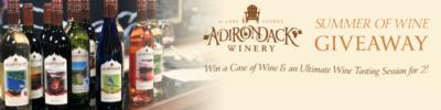 adirondack winery wines and wine glass