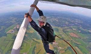 a skydiver