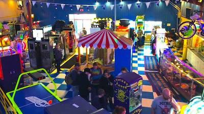 interior of Adventure Family Fun Center