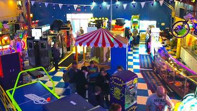interior of Adventure Family Fun Center