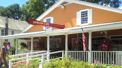 exterior of UpRiver Cafe