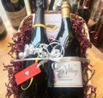 bottles of wine gift