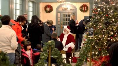 santa at glens falls' hometown holiday celebration