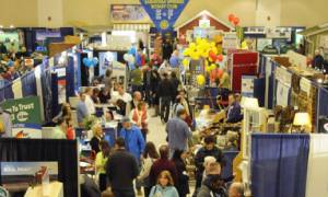 people at a home and lifestyle show
