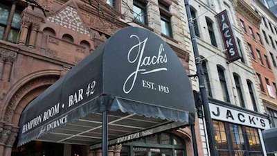exterior photo of Jack's Oyster House