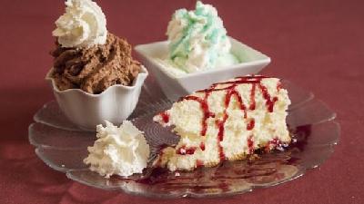 desserts created at Chez Pierre Restaurant