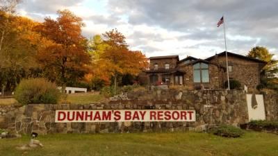fall photo of Dunham's Bay Resort