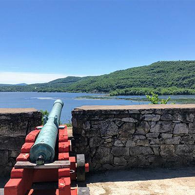 cannon at fort ticonderoga