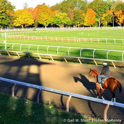 saratoga in the fall