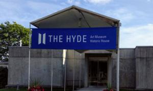 exterior entrance of the hyde collection
