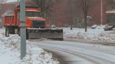 big snow plow
