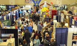 crowd at home and lifestyle show